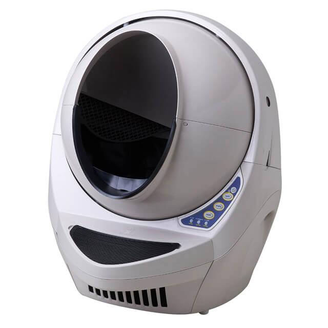 タイムマシンみたいな全自動猫トイレ