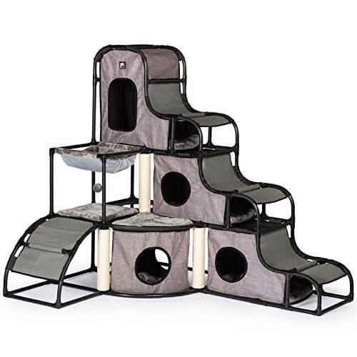 組み立て簡単な猫のジャングルジム