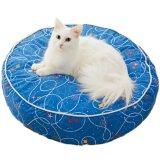 猫が丸まりやすい円型クッション