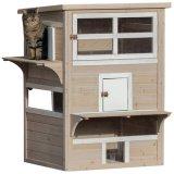 屋外でも使える耐候性に優れたキャットハウス