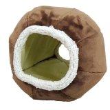 球形or半球形の二通りの楽しみ方ができるキャットベッド