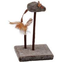 チューチュー鳴いて猫の狩猟本能を刺激するネズミのおもちゃ