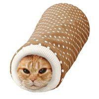 洋服の袖にもぐるのが好きな猫におすすめのキャットトンネル