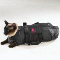 猫の爪切りや注射を安全に行うための保護用具
