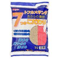 おからを主原料とした自然素材の猫砂