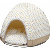 直射日光やエアコンの風を防いで夏を快適に過ごせるドーム型クールベッド