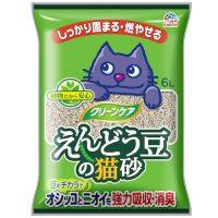 えんどう豆から作られた自然素材の猫砂