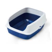 猫砂の飛散を防止できる大きめサイズのキャットトイレ