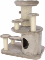 段差が低く高齢猫でも登りやすいキャットタワー