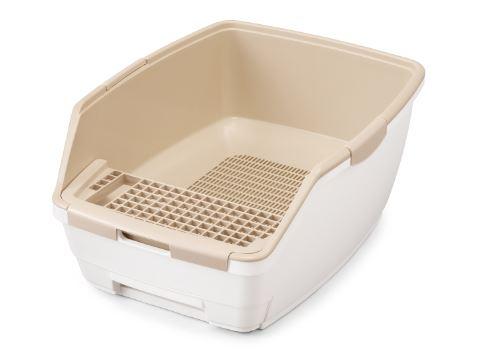 砂替え不要で掃除らくらくな猫トイレ