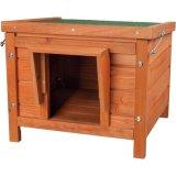 屋外でも利用可能なモミノキのキャットハウス